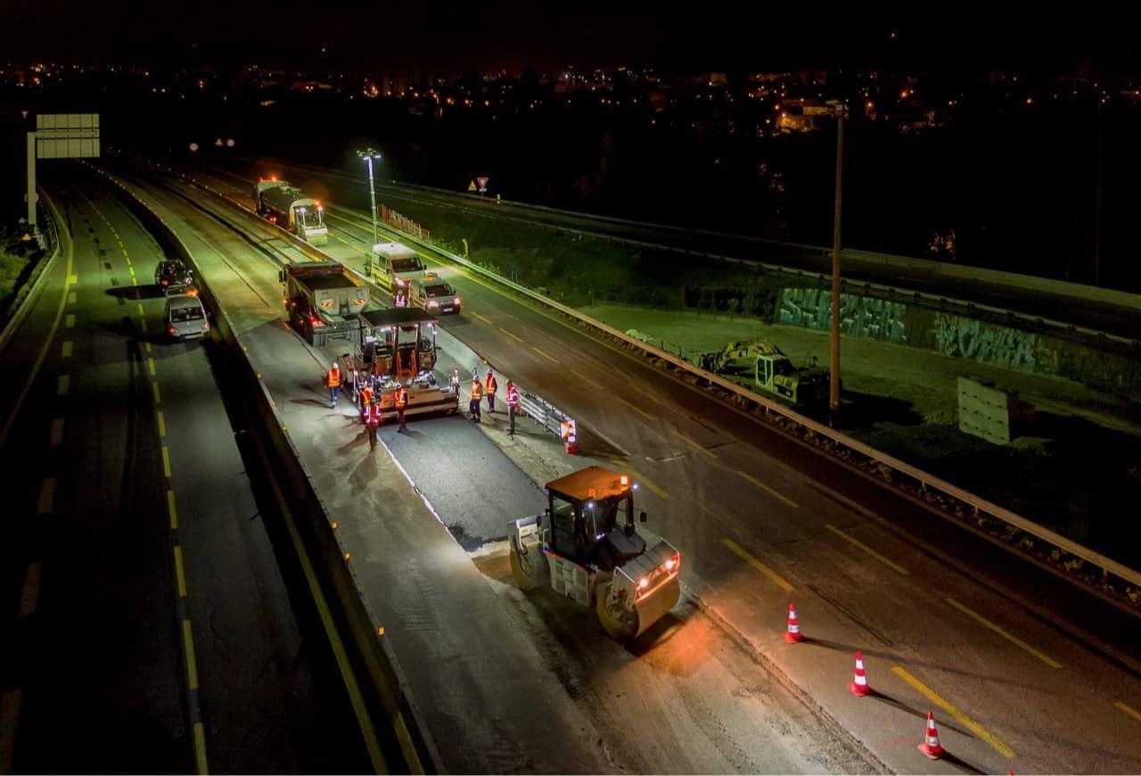 travaux de nuit sur l'A480