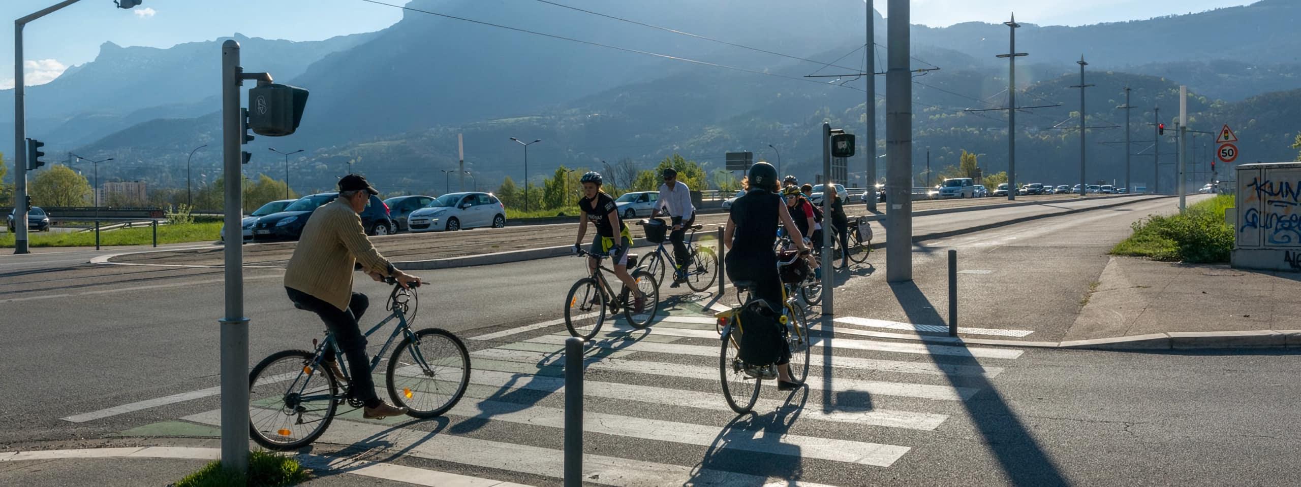 grenoblois à vélo
