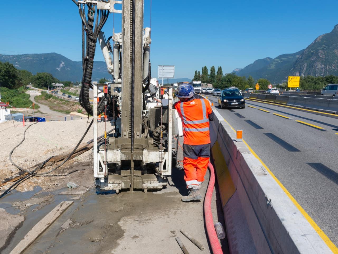 les travaux sur le viaduc de l'Isère ont débuté