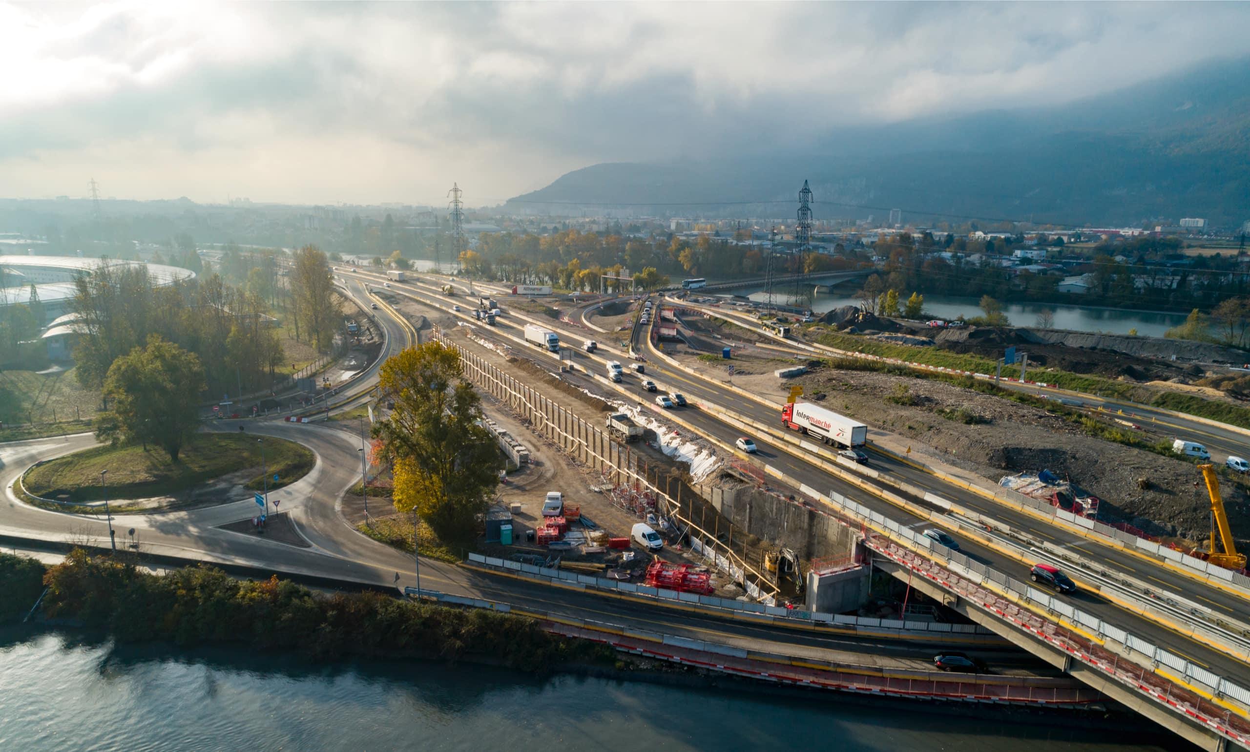 amélioration des voies de circulation dans le secteur Martyrs