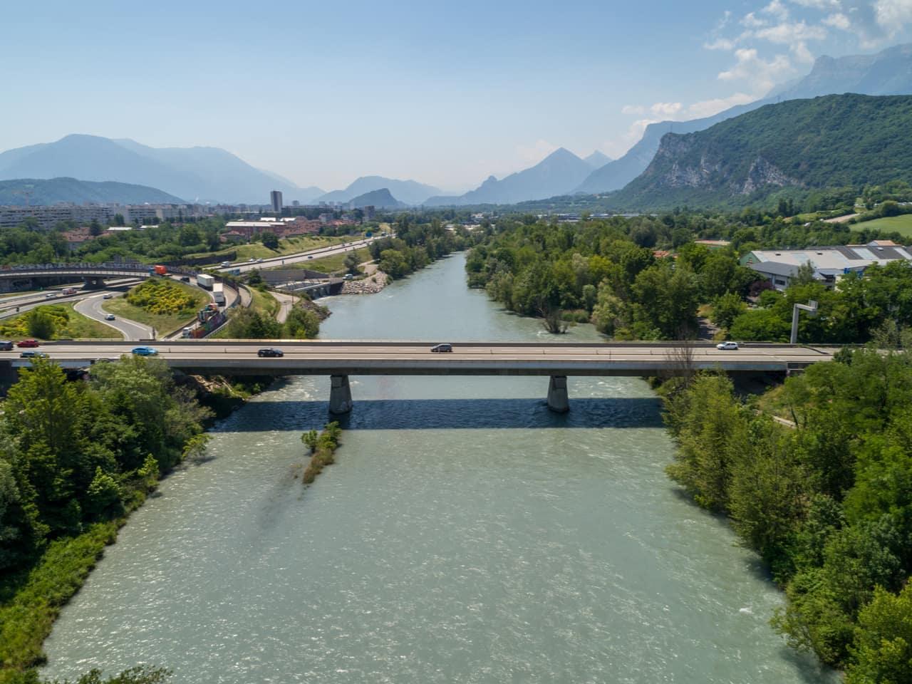 A480, pont secteur du Rondeau