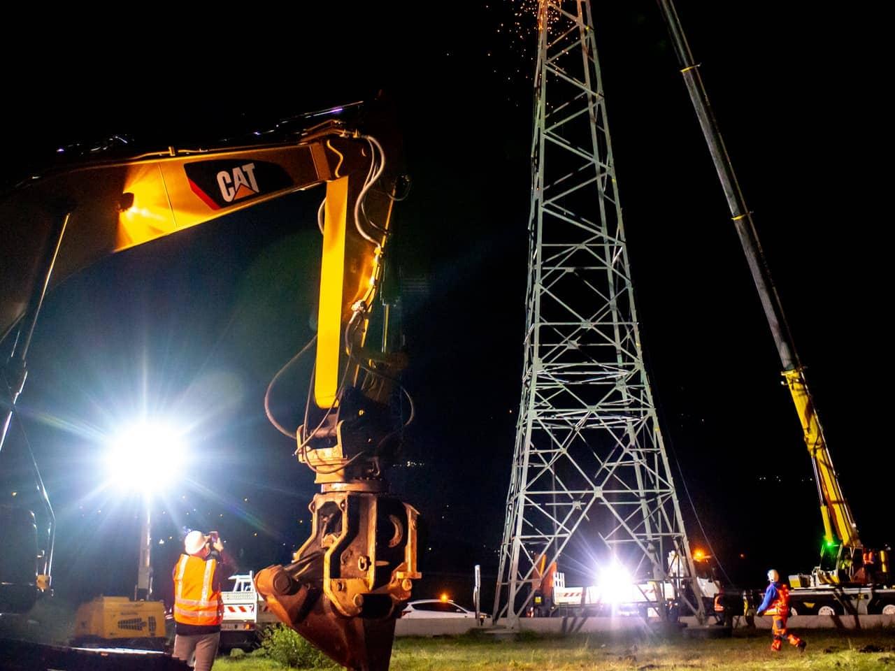A480 travaux de nuit