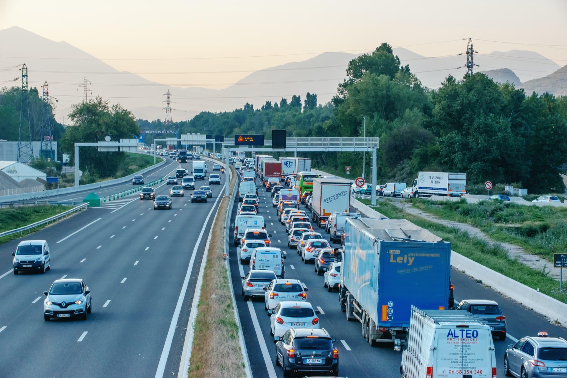 Circulation difficile sur le réseau autoroutier