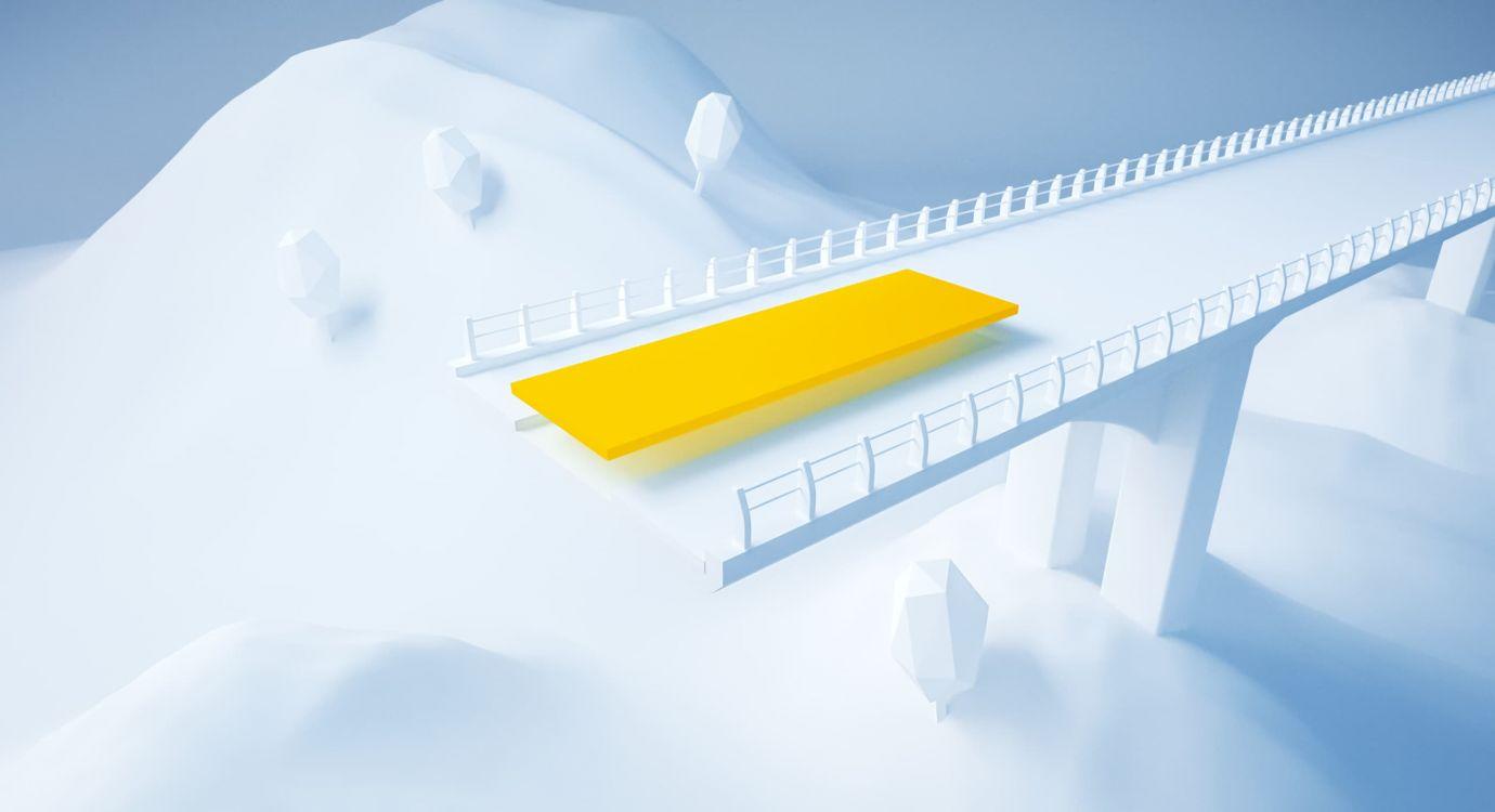 Illustration glossaire APRR : Tablier d'un pont