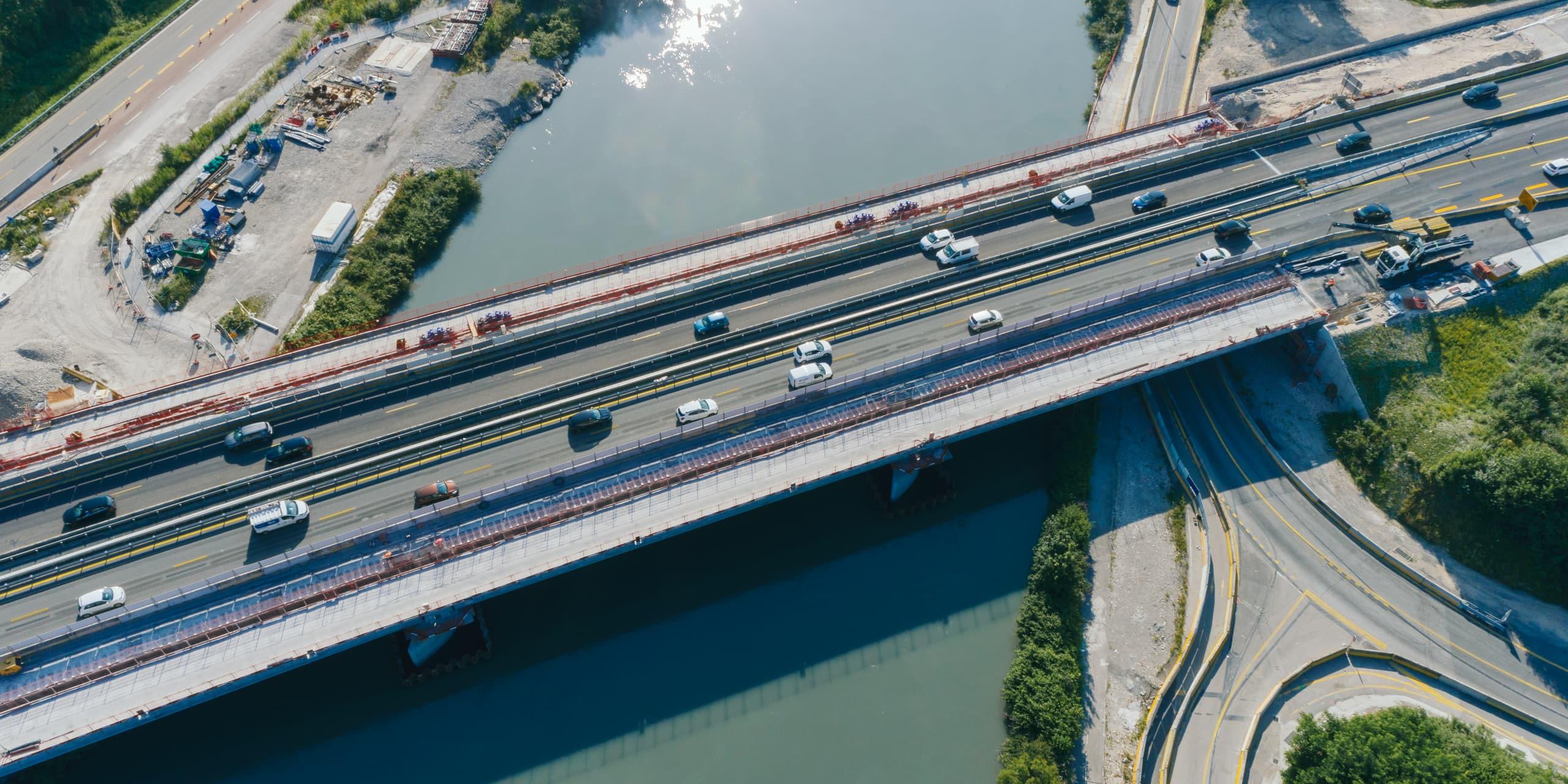 Viaduc de l'Isère à Grenoble
