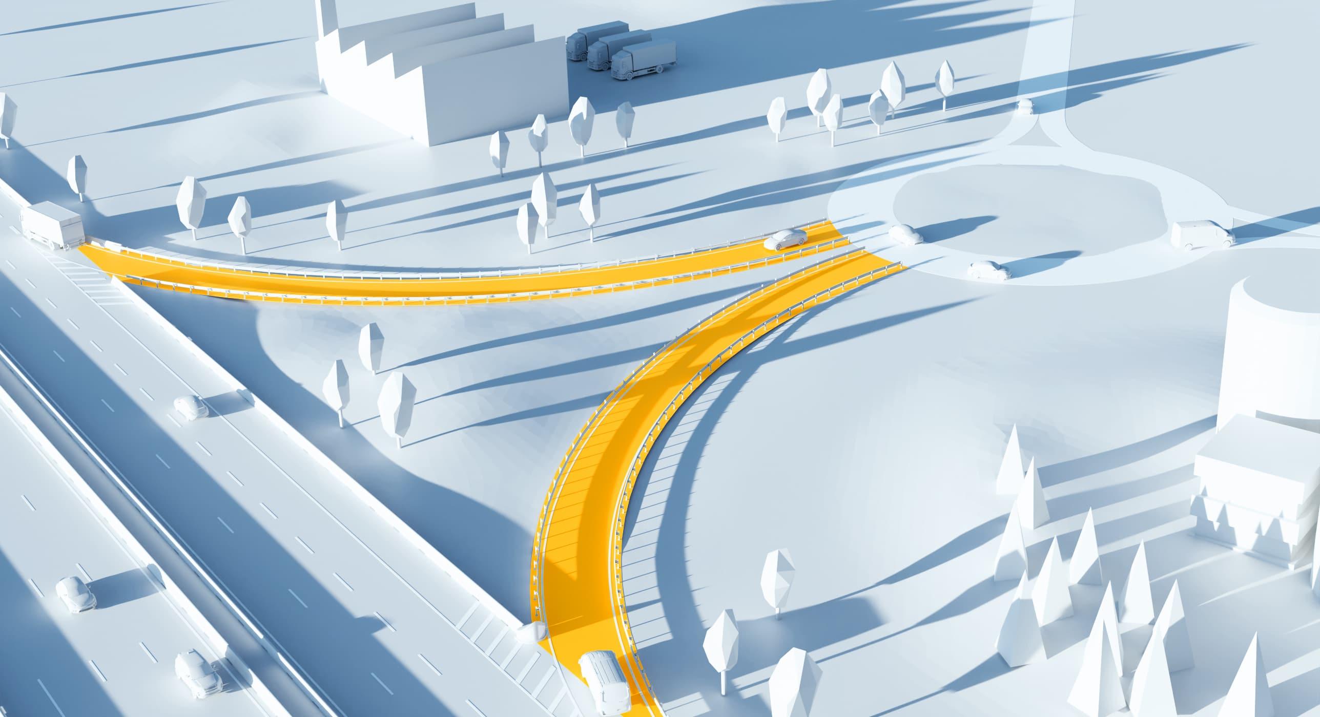 Illustration 3D : diffuseur