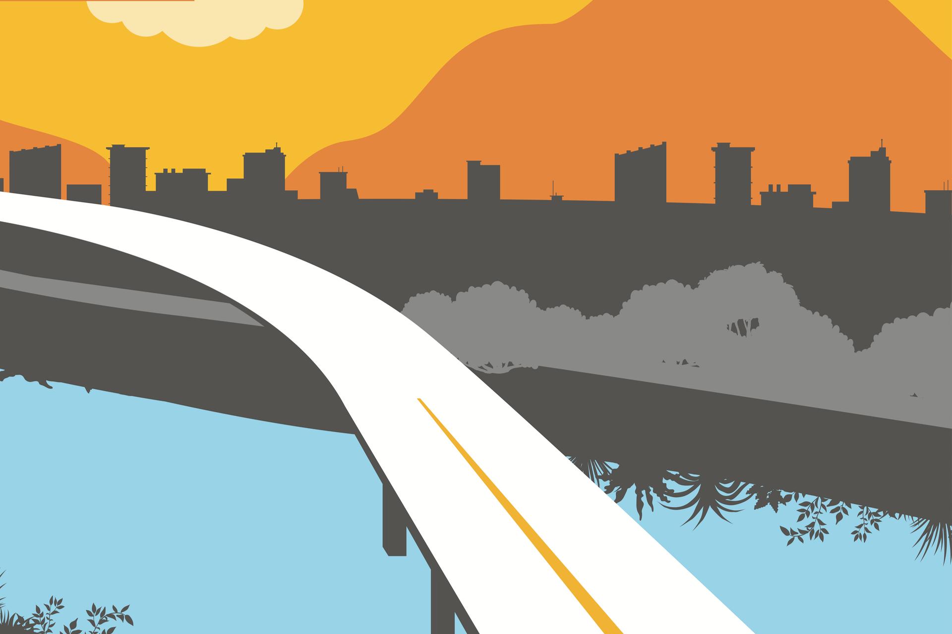 illustration pour la clavage du viaduc de l'Isère sur l'autoroute A480